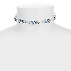 J by Jasper Conran - Designer navette crystal choker necklace