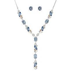 J by Jasper Conran - Designer navette crystal jewellery set