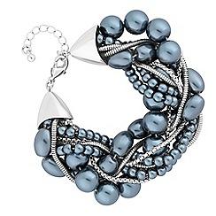 J by Jasper Conran - Designer pearl twist bracelet