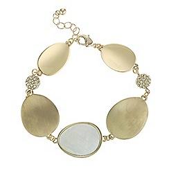 J by Jasper Conran - Designer pave ball bracelet