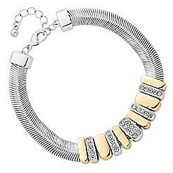 J by Jasper Conran - Designer pave square bracelet
