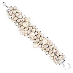 J by Jasper Conran - Designer pearl shaker bracelet
