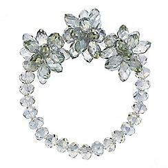 J by Jasper Conran - Designer beaded flower bracelet