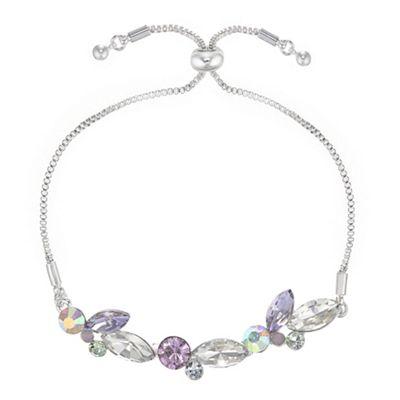 J By Jasper Conran   Designer Crystal Leaf Toggle Bracelet by J By Jasper Conran