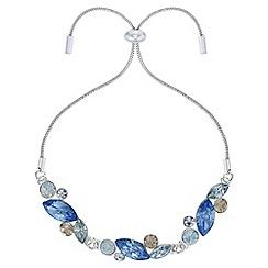 J by Jasper Conran - Designer navette crystal toggle bracelet