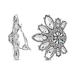 No. 1 Jenny Packham - Designer crystal cluster clip on earrings