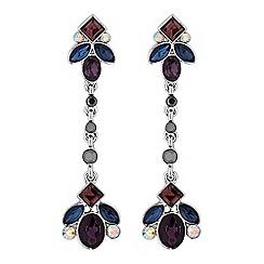 No. 1 Jenny Packham - Designer tonal crystal drop earrings