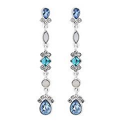 No. 1 Jenny Packham - Designer crystal cluster earrings