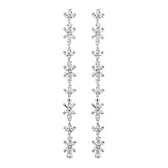 No. 1 Jenny Packham - Designer linear drop earrings