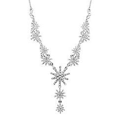 No. 1 Jenny Packham - Designer silver crystal star y necklace