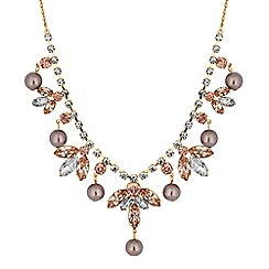 No. 1 Jenny Packham - Designer pearl and crystal droplet necklace