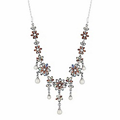 No. 1 Jenny Packham - Designer floral toggle necklace