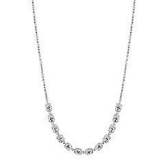No. 1 Jenny Packham - Designer baguette crystal toggle necklace