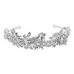 No. 1 Jenny Packham - Designer crystal leaf tiara