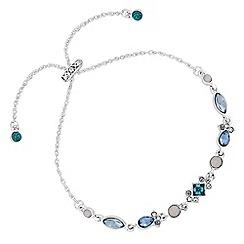 No. 1 Jenny Packham - Designer crystal cluster bracelet