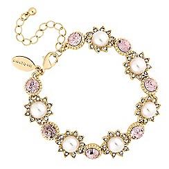 No. 1 Jenny Packham - Designer blush pearl bracelet