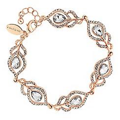 No. 1 Jenny Packham - Designer crystal feather bracelet
