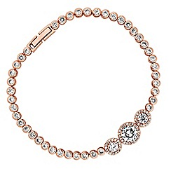No. 1 Jenny Packham - Designer crystal halo bracelet