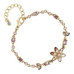 No. 1 Jenny Packham - Designer blush pearl and crystal bracelet