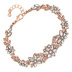 No. 1 Jenny Packham - Designer crystal flower statement bracelet