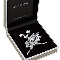 Jon Richard - Crystal ballerina brooch