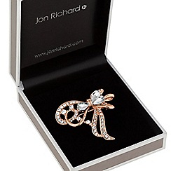 Jon Richard - Crystal bow brooch