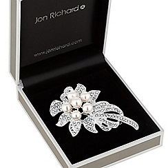 Jon Richard - Pearl corsage brooch