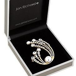 Jon Richard - Pearl sprig brooch