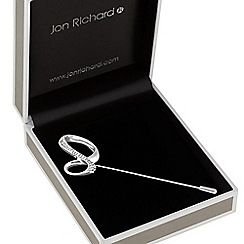 Jon Richard - Pave infinity scarf pin brooch