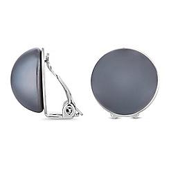 Jon Richard - Pearl button clip on earrings