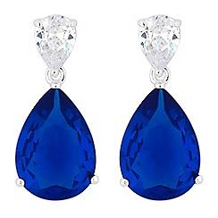 Jon Richard - Crystal peardrop earrings