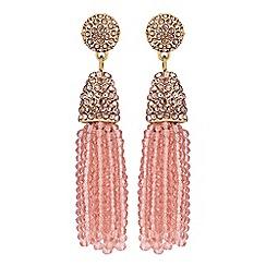 No. 1 Jenny Packham - Designer beaded tassel earrings