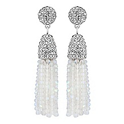 No. 1 Jenny Packham - Designer beaded tassel earring