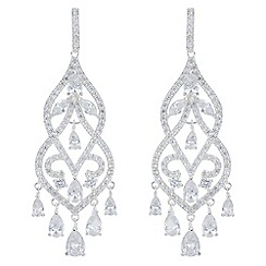 Alan Hannah Devoted - Designer filigree statement earrings