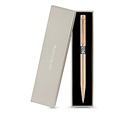 Jon Richard - Rose gold crystal shaker pen created with Swarovski crystals