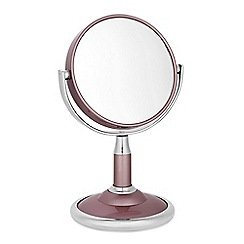 Jon Richard - Silver and pink small standing mirror