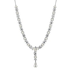 Alan Hannah Devoted - Aurora pearl and cubic zirconia necklace
