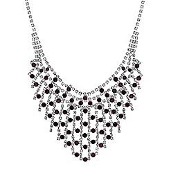 Jon Richard - Crystal diamante collar necklace