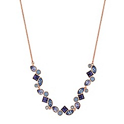 Jon Richard - Crystal cluster necklace created with swarovski crystals