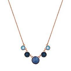 Jon Richard - Graduated circle necklace created with Swarovski crystals