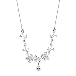 Jon Richard - Butterfly cubic zirconia necklace
