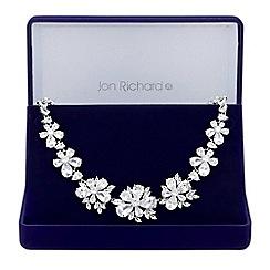 Jon Richard - Botanical statement necklace