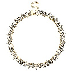 Jon Richard - Crystal cluster statement necklace
