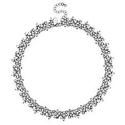 Jon Richard - Crystal cluster statement necklace