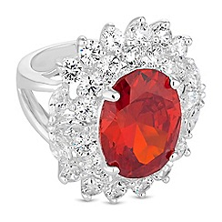 Jon Richard - Crystal cluster ring