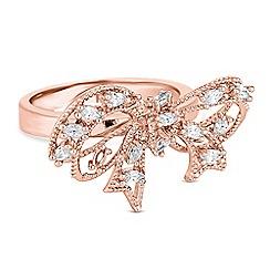 Jon Richard - Crystal bow ring