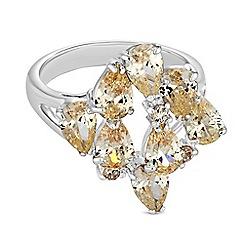 Jon Richard - Cubic zirconia burst ring