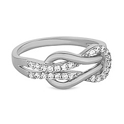 Jon Richard - Pave infinity ring