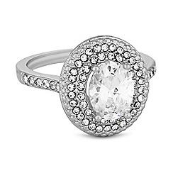 Jon Richard - Pave halo ring