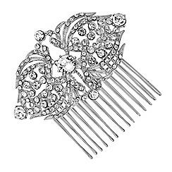 Jon Richard - Crystal statement hair comb